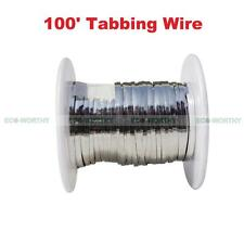 100 Feet Solar Cell Panel 2mm Tab Soldering Wire Free Shipping for Solar DIY