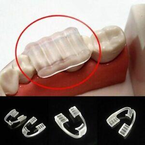 2* EVA Dental Mouth Guard Bruxism Splint Teeth Grinding Sleep Aid Braces Usable