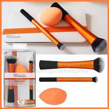 1 REAL TECHNIQUES ULTIMATE BASE & Sponge Set Makeup Brushes 'RT-1521' Comestics