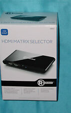 "Radio Shack HDMI Matrix Selector 3-In/2-Out 1500474 -""Factory New"" – Great Find!"
