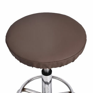 Bar Stool Cover Round Chair Slipcover Home Office Seat Cushion Slip On Protector