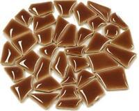 Flip Ceramic Mini Mosaic Tiles - Mocha 100g