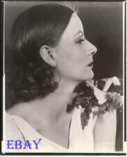Greta Garbo in profile VINTAGE Photo
