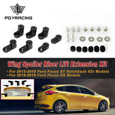 T-6061 Anodized Aluminum Wing Spoiler Hatch Riser Extension For Ford Focus ST