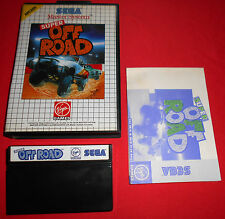 Master System 1 & 2 Super Off Road  [PAL] Sega *JRF*