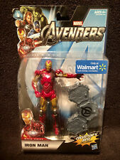 "Marvel Legends IRON MAN AVENGERS MOVIE SERIES 6"" 2011 Walmart Exclusive MCU New"