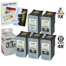LD © Remanufactured Canon #PG-40 & #CL-41 Combo Set - 4 Black 1 Color