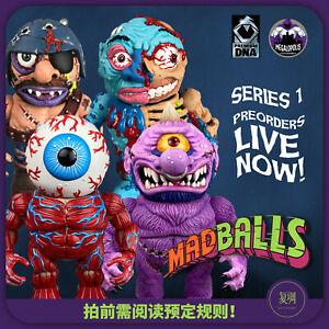 Pre Order Megalopolis Madballs Series 1 Premium DNA Vinyl H6inch Figures