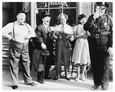 THE THREE STOOGES with Curly scene still - (a358)