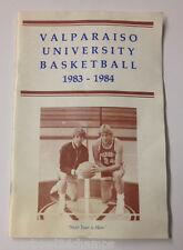 1983-84 Valparaiso University Baseketball Media Guide