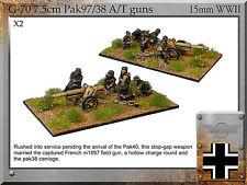 Forged in Battle FOW WW2 15mm German 7.5cm Pak97/38