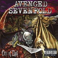 City of Evil [PA] CD Avenged Sevenfold MINT Punk Heavy Nu Metal Rare