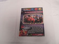 """Star Trek Universe 8"""" X 10"""" Fact and Photo Card  Packet of Cards-5219-09-10 SEAL"""
