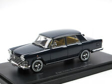AutoCult 05021 1959 Fiat 2100 Speciale Limousine lang dunkelblau 1/43 Neuheit