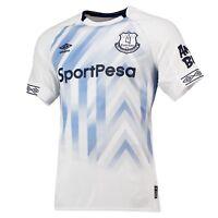 Official Everton Football Third Shirt Jersey Tee Top 2018 19 Mens Umbro