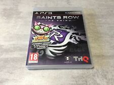 PS3 Saints Row The Third Professor Genka PLAYSTATION 3 SONY PAL FR COMPLET