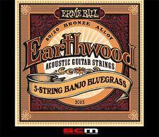 Ernie Ball 2063 Banjo Strings 9-20 Strings Bluegrass 5 String Set