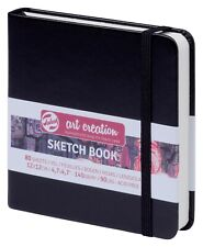 Talens Art Creation Hardback Sketch Book 140gsm 12 x 12 cm Square