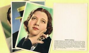 Vintage 1930s ☆ FILM STAR ☆ Extra Large cards issued in the UK #1 to #150
