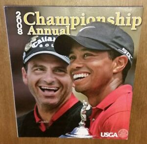 2008 USGA CHAMPIONSHIP ANNUAL WITH TIGER WOODS ON COVER - US GOLF ASSOCIATION