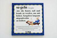 Segeln (Tomus - Die fröhlichen Wörterbücher) | Buch < Zustand sehr gut >
