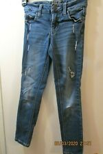 Girl's Distressed Justice Jeans - Super Skinny - Size 8