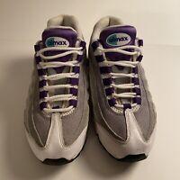 Nike Air Max 95 OG Womens Size 8 Wolf Grey Grape Black 336620-105 2011