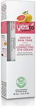 Yes To Grapefruit Uneven Skin Tone, Dark Circle Eye Cream, 0.5 Oz