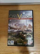 Sid Meier's Civilization V (PC, 2010) CIB ( Mac Version only)