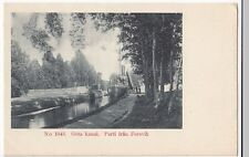 Sweden; Gota Canal, Lock At Forsvik PPC, Unposted, Undivided Back, c 1900-05