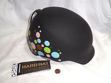 NEW (Read) Bern W4 Muse Hardhat Women's Size M Ski Skate Bike Helmet polka dots