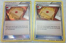 Pokemon Professor's Letter 146a/162 Alternate Art Battle Arena Deck Card