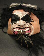 Bat Biter Heavy Metal Rocker Kiss-Style Halloween Mask BRAND NEW