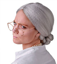 Oma Perücke mit Dutt NEU - Karneval Fasching Perücke Haare