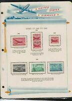 united states airmails issues of 1946-48 stamps page ref 18032