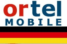 NEW, Ortel GERMAN, PREPAID SIM card. MICRO/STD or NANO size. Connection pack.#