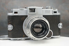 - Revolutionary Kodak Ektra 35mm Camera w 50mm f1.9 Lens Shutter Works!