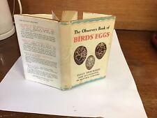 observers book of birds eggs 1962: