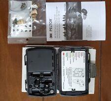 3M PELTOR Tactical Earplug TEP-100 Complete Kit w/charger, case