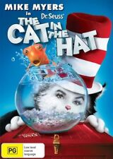 Dr. Seuss' The Cat in the Hat - (DVD, 2010 PLATINUM COLLECTION) R4 - NEW SEALED