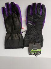 Arctic Cat Interchanger Medium Purple Gloves 3M Thinsulation Insulation