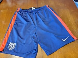USMNT Nike Official Training Knee  Shorts Worn By Players size L