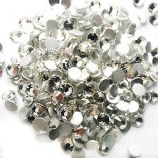 Crystal Clear Rhinestones No Hotfix Flatback Strass Stones SS3-SS30 Nail Art