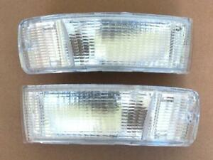 AUDI 80 1991 - 1996 COUPE CABRIOLET FRONT CLEAR INDICATOR PAIR O/S & N/S