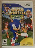Sega Superstars Tennis Complete Nintendo Wii In Box