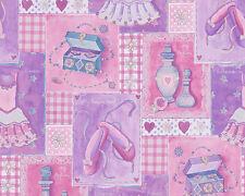 A.S. Creation 30597-1 / Boys & Girls 5 / Tapete / Ballett Rosa Pink / 1,74 €/qm