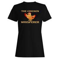 Chicken The Whisperer  Ladies T-shirt/Tank Top v762f