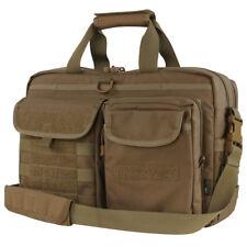 Condor Metropolis Tactical Laptop Shoulder Messenger Military Briefcase Brown