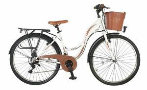 26 Zoll City Damen City Mädchen Fahrrad Mädchenfahrrad Rad 21 GANG STVO Licht