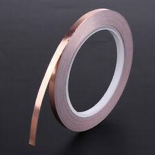 20m 6mm Adhesive Copper Foil Tape EMI Shielding Guitar Electromagnet Barrier
